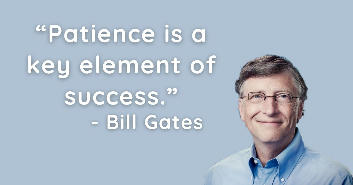 Bill Gates Motivational Thoughts In English HD Pictures Download