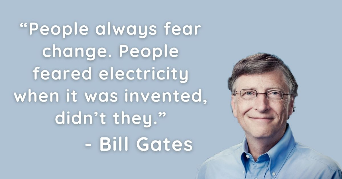 Bill Gates Motivational Thoughts In English HD Pics Download