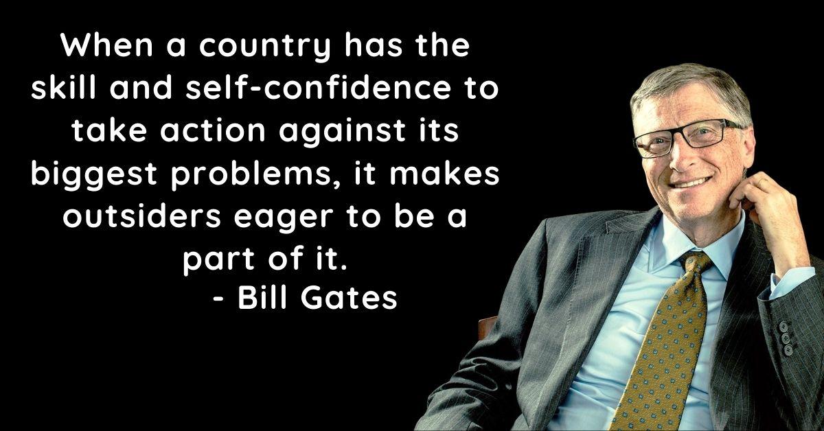 Bill Gates Prernadayak Quotes In English HD Photos Download