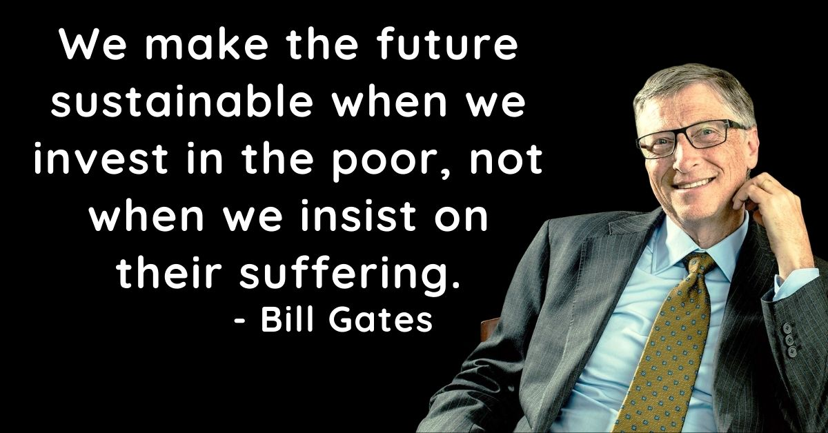 Bill Gates Inspirational Thoughts In English HD Pictures Download