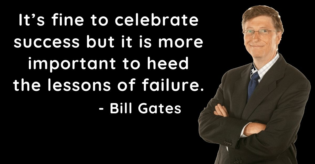 Bill Gates Inspirational Quotes In English HD Photos Download