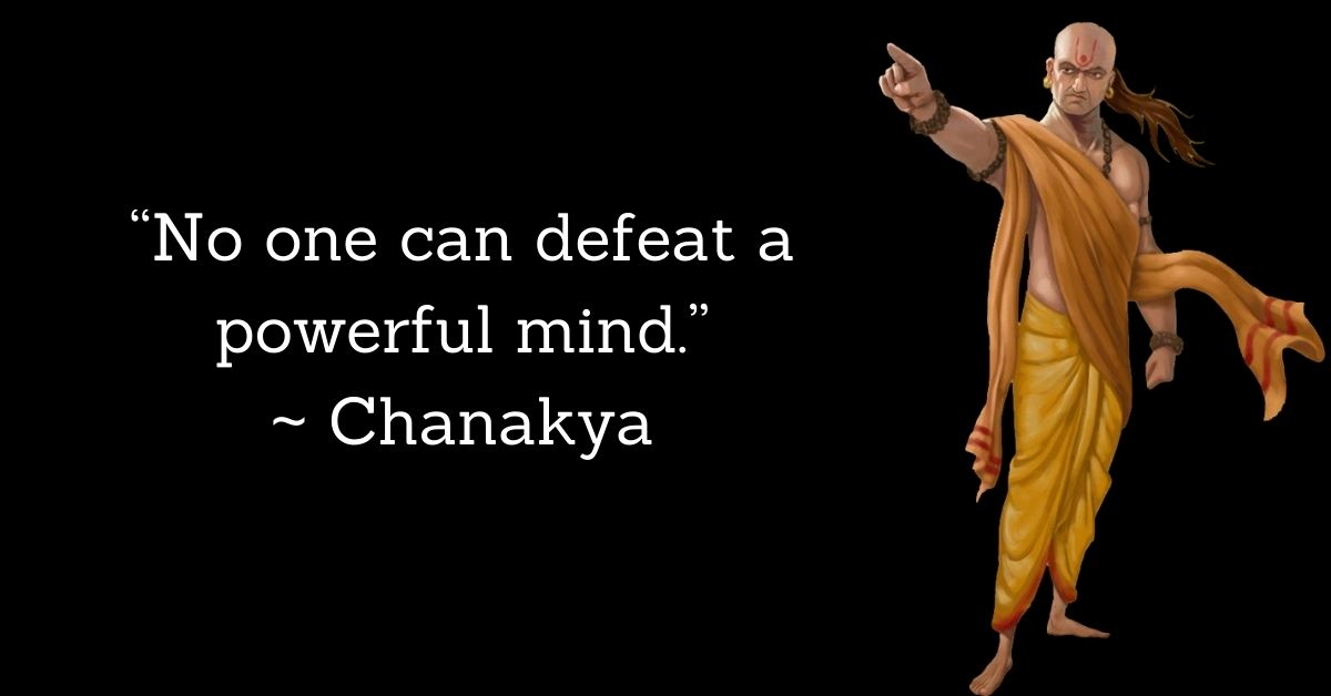 Chanakya Motivational Quotes In English HD Images Download