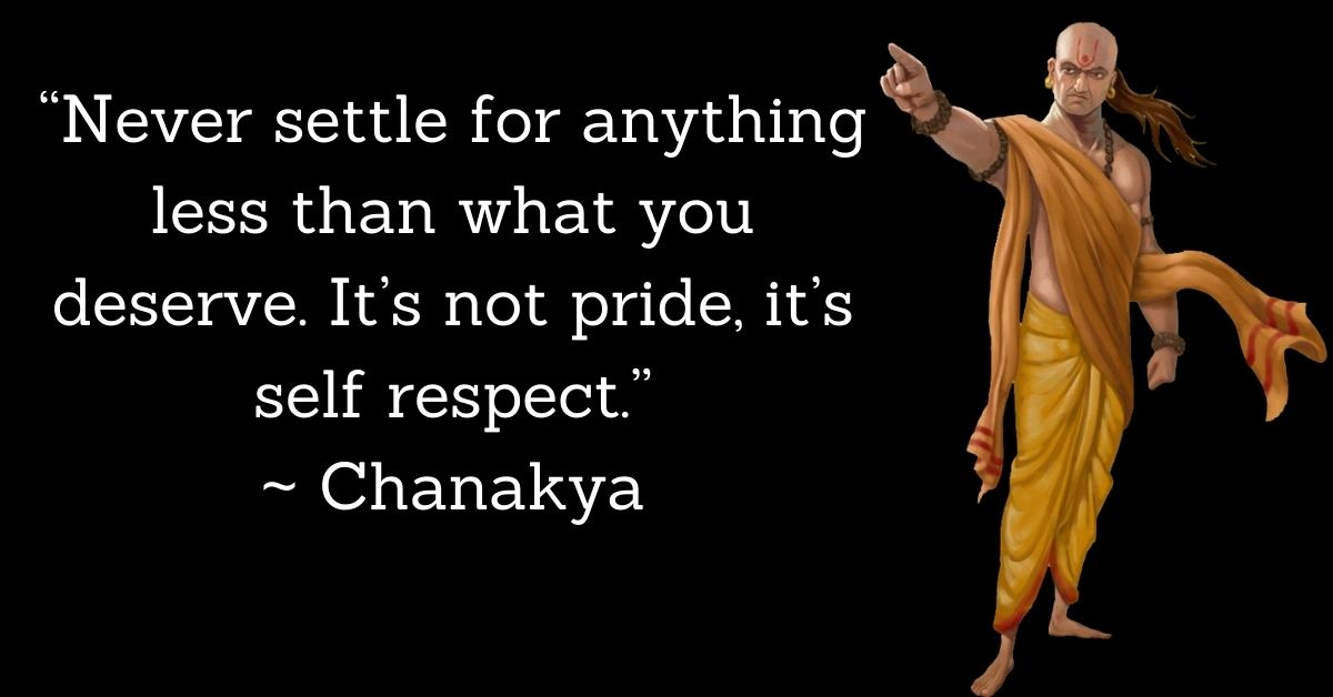 Chanakya Inspirational Thoughts In English HD Photos Download