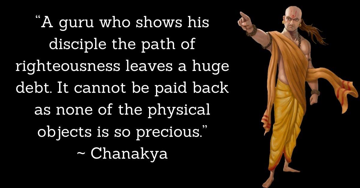 Chanakya Inspirational Quotes In English HD Pics Download