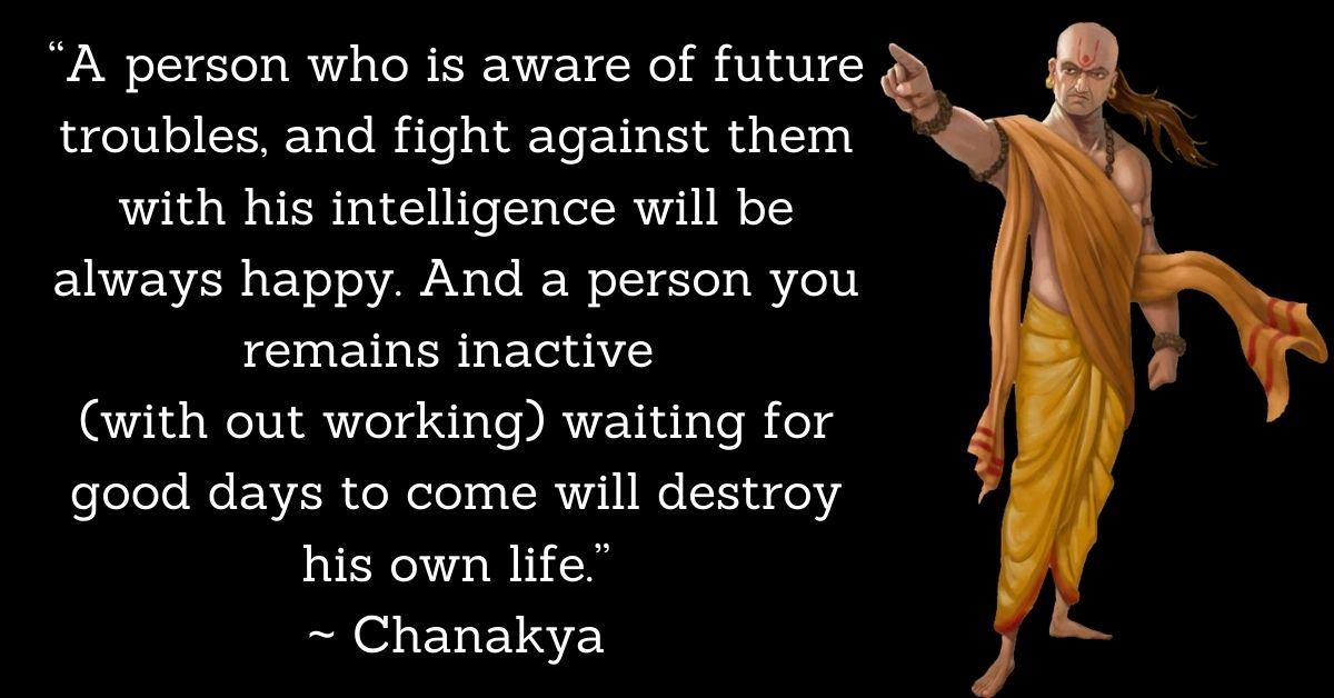 Chanakya Prernadayak Quotes In English HD Photos Download