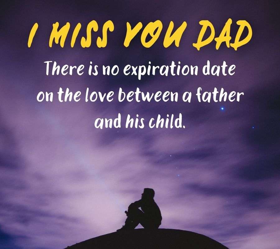 I Miss You Dad HD Photos Download Free For WhatsApp