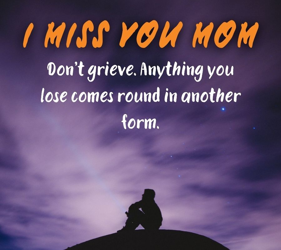 I Miss You Mom HD Photos Download Free For WhatsApp