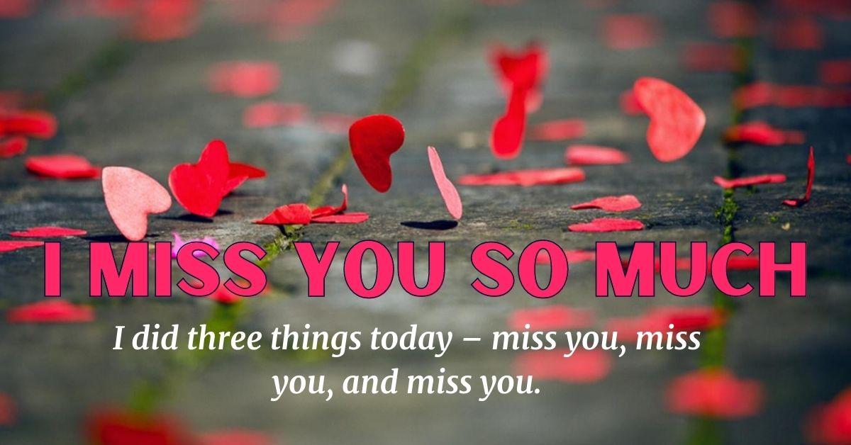 I Miss U HD Images For Lover Download For Facebook