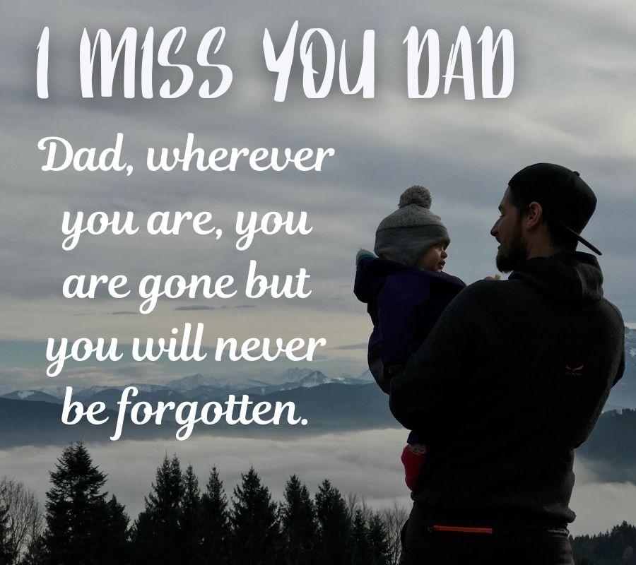 I Miss U Dad HD Images Download Free For Facebook