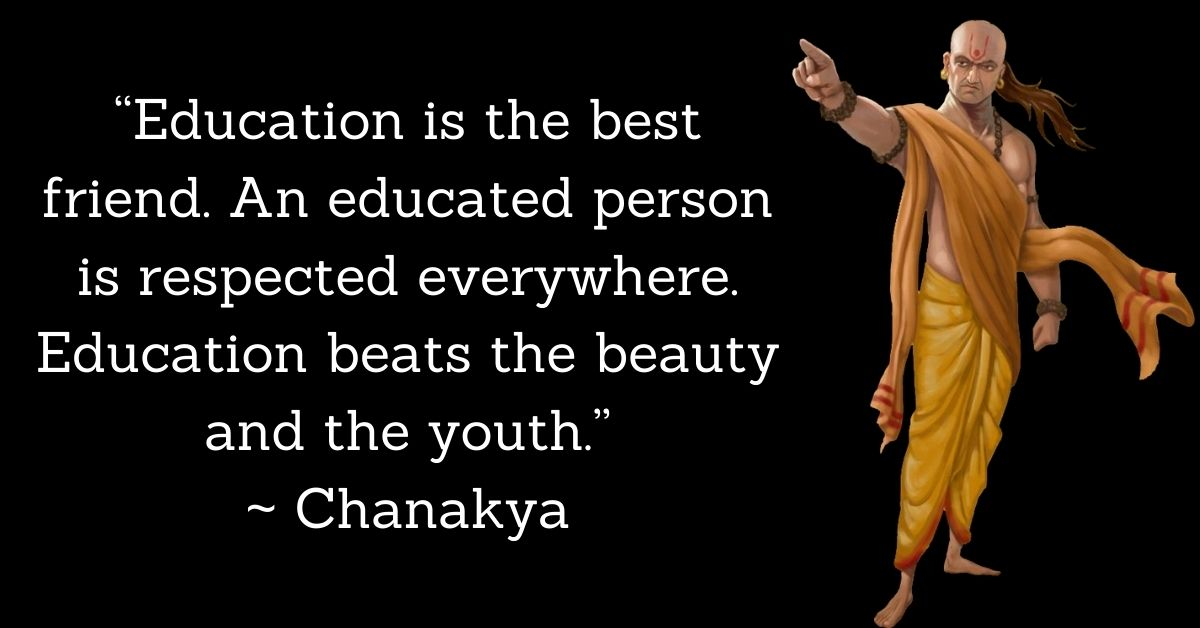 Chanakya Inspirational Quotes In English HD Pictures Download