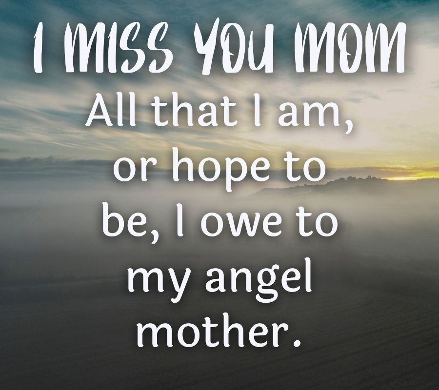 I Miss U Mom HD Pictures Download Free For Facebook