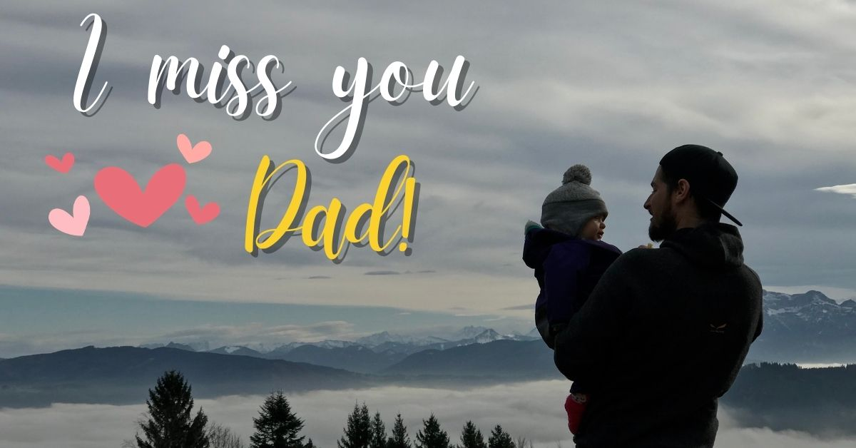 I Miss You Dad HD Images Download Free For WhatsApp