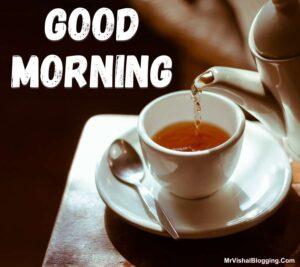 good morning tea images