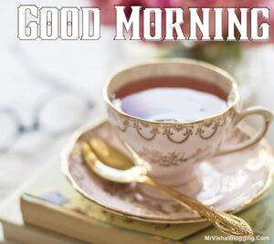 good morning tea cup pic hd