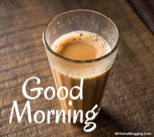 good morning indian tea images