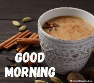 good morning tea images photos