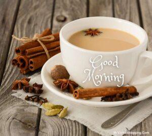 good morning tea real pic