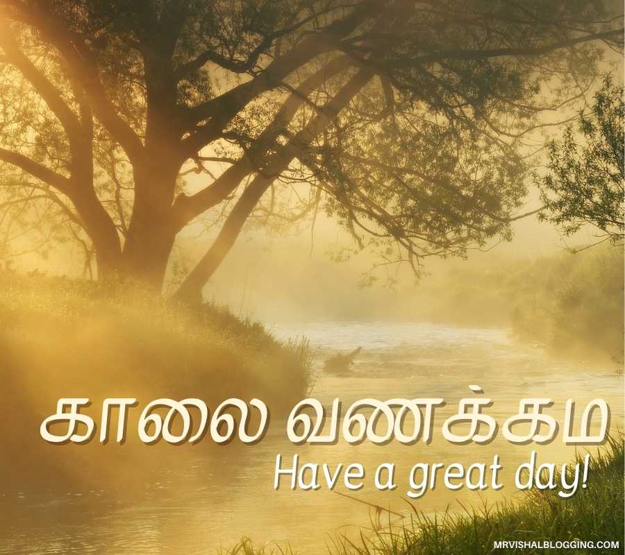 Good Morning Photos With Quotes In Tamil