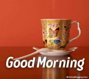 good morning tea pot images