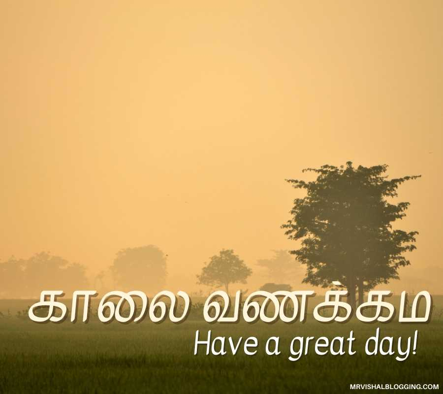 Wallpepar Tamil Good Morning