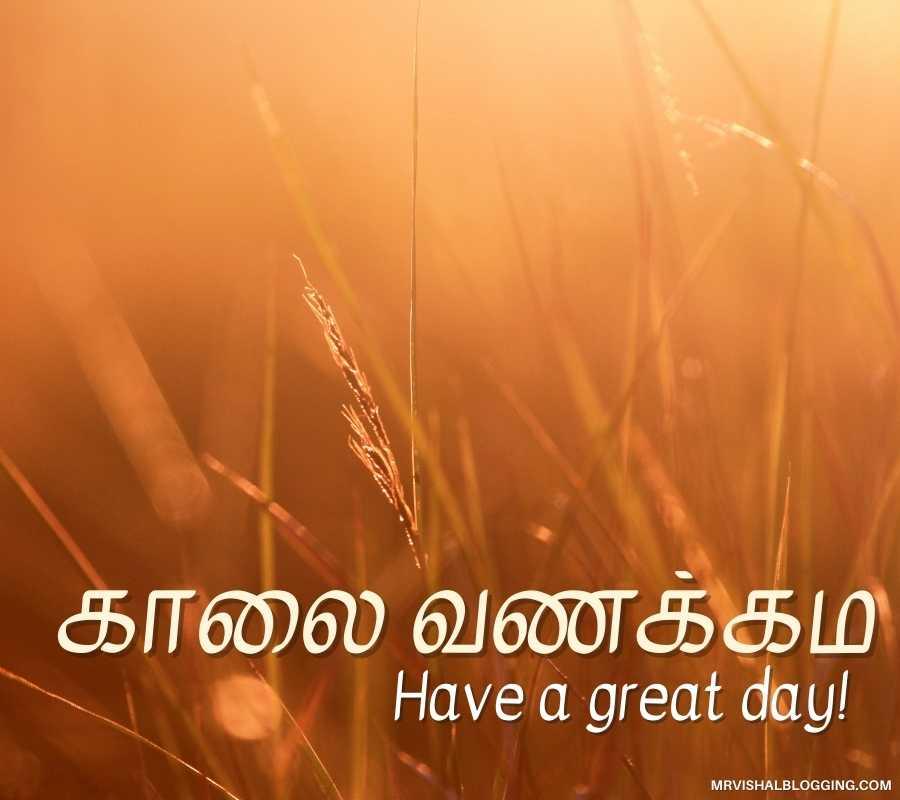 Good Morning Tamil Wallpapers
