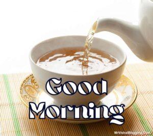 good morning tea images free download