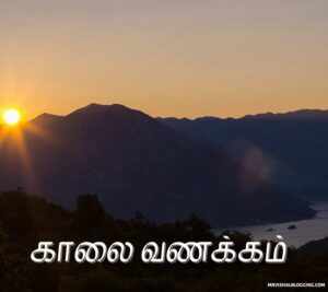 good morning images with tamil love quotes