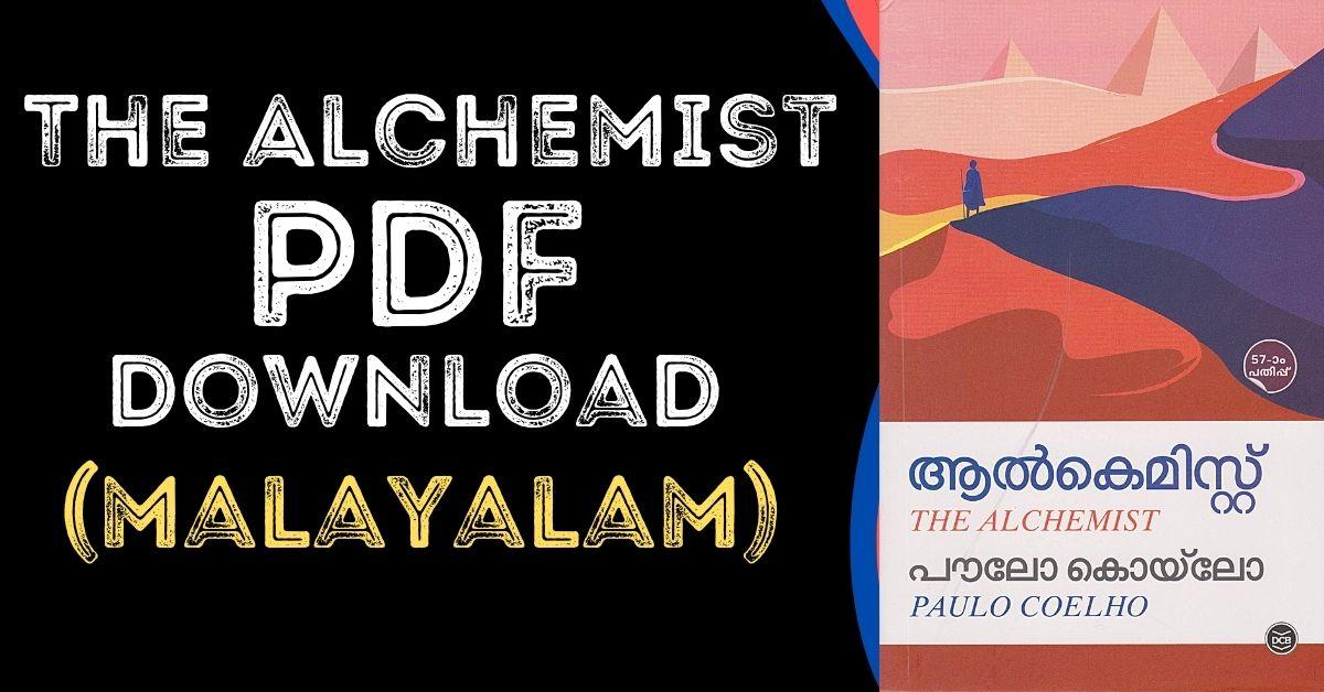 The Alchemist By Paulo Coelho (Malayalam) PDF Download Free